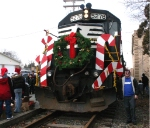 NS 5278 The Browns Yard Santa has arrived