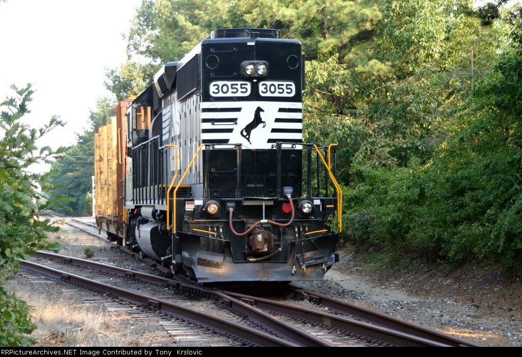 NS 3055 Locomotive style on the Industrial Track