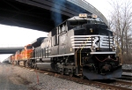NS 2721 With a trio of BNSF power