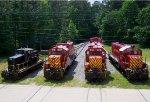 Fort Eustis Military Railway Roster