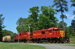 The Range Train passing through the Pines Golf Course