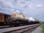 Tank cars in Fort Eustis