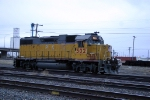 UP GP38-2 with a ratty looking paint job
