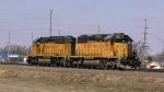 SD40-2's trundle along
