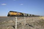 DPU on an eastbound coal train