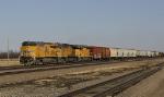 Westbound freight train