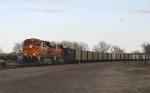Empty hopper train