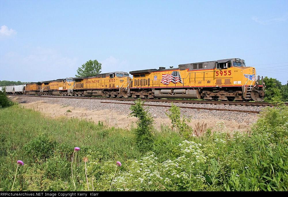UP 5955 at Birmingham Jct.