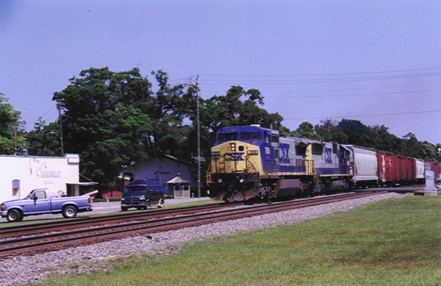 Southbound engine 7816