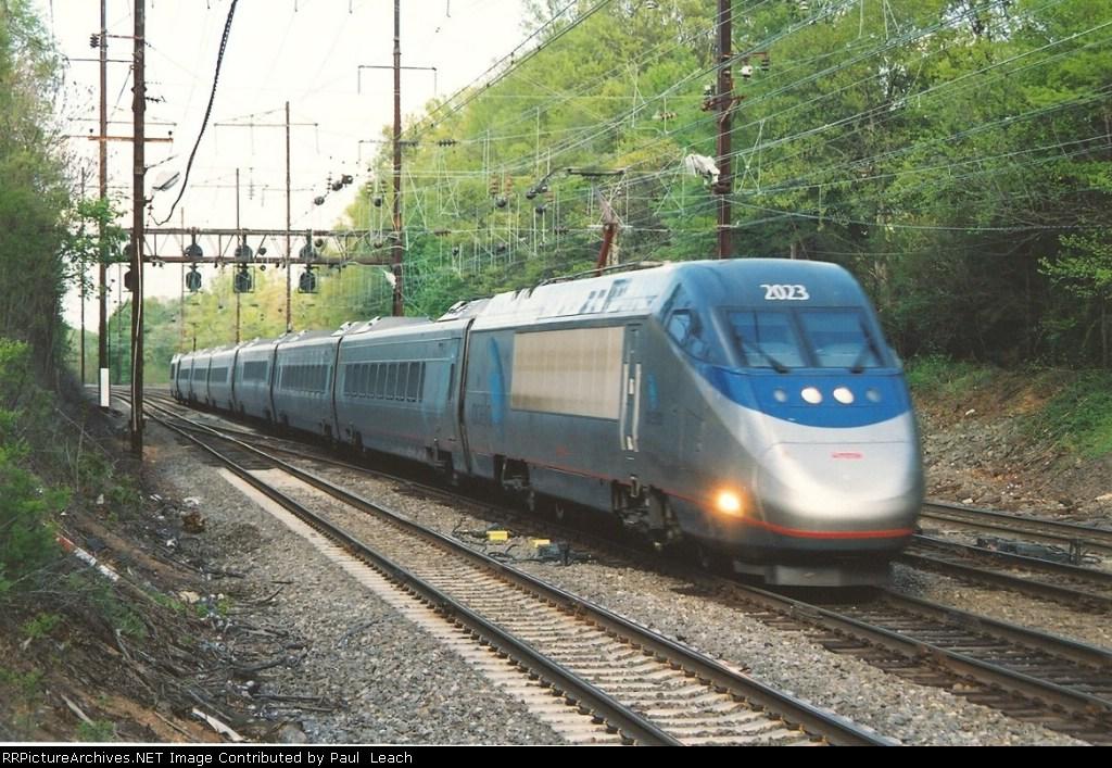 Westbound Acela Express