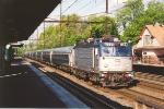 Westbound NEC train
