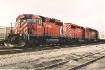 Southbound intermodal waits for clearance
