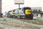 Intermodal departs yard