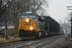 CSX 755 headed North just past the depot.
