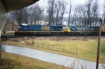 CSX 5492, 515 headed North bound.