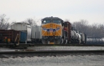 South bound UP 9668 in Howell Yard.