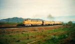 Union Pacific's Operation Lifesaver Special,Santaquin,Utah May 4,1995.