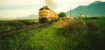 Union Pacific's Operation Lifesaver Special Springville,Utah May 4,1995.