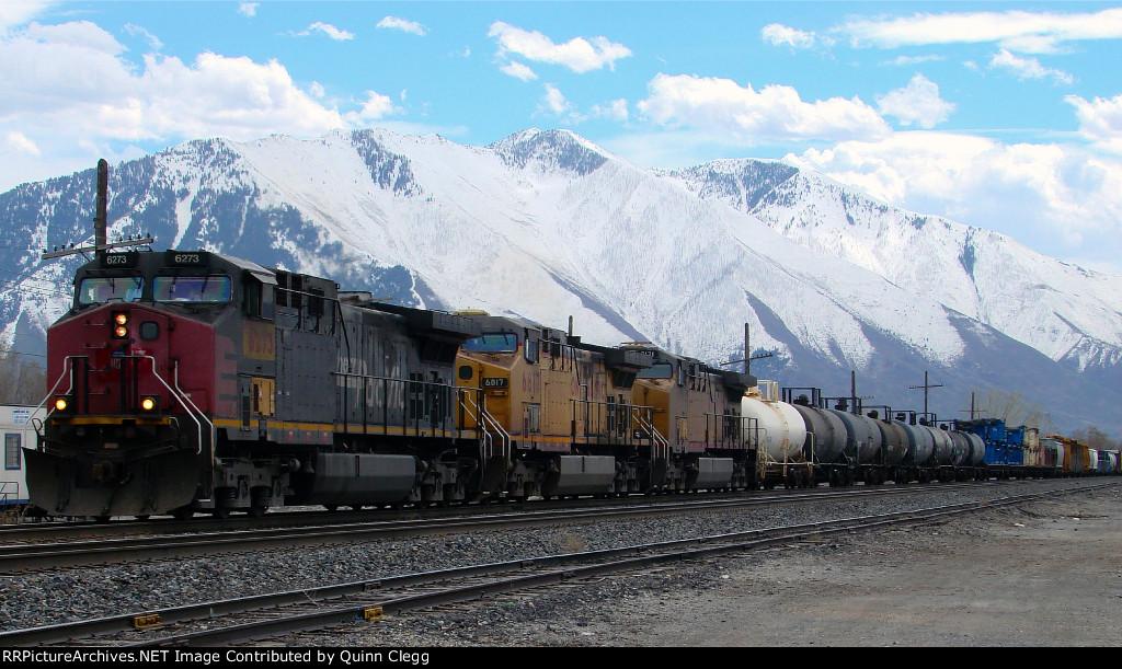 Union Pacific's Denver-Salt Lake City Manifest.