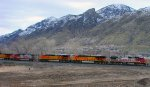 BNSF's Provo-Denver ''Q''Train March 27,2011.