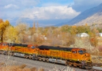 BNSF's Provo-Denver ''Q'' Train Ironton,Utah November 13,2010.