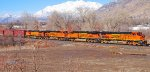 "BNSF's Stockton-Provo ""Q"" Train."