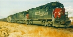 SOUTHERN PACIFIC ''SPEED LETTERING MEMORIES''.