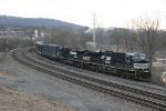 Eastbound Garbage Train