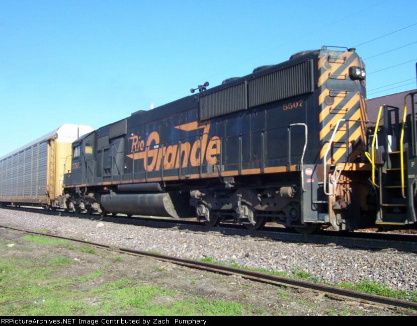 Rio Grande DRGW 5507