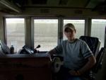 Me Running the Coal Train