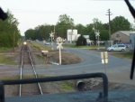 Up to the BNSF Crossing