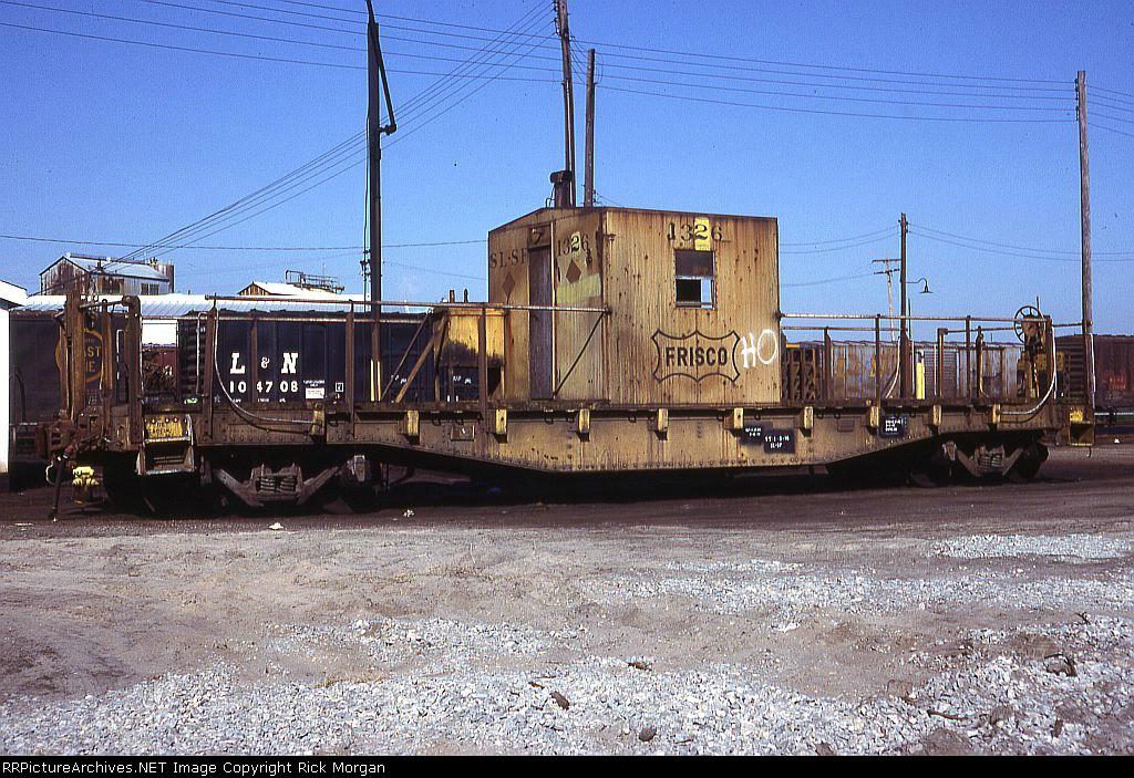 Frisco transfer caboose 1326