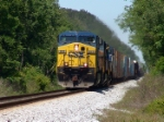CSX 603 putting out some heat waves