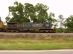 CSX 133 in motion