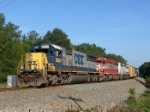 CSX 8504 leads a colorful consist