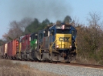 CSX 8578 leads an almost all EMD consist