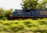 CSX 4725 in motion