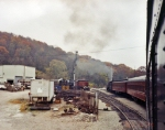 TVRM steam excursion arriving back at East Chattanooga. 