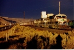 Black Skies& Bright Sun as Execitive SD70MACs Roll West