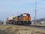 BNSF 4181 Leads an Eastbound Z Train