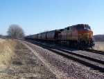 BNSF 4746 Was a DPU on this Grain Train