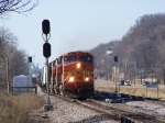 BNSF Freight Manifest Knocks Down the Murphy Crossover