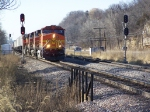 Eastbound Piggyback Train
