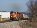 A Quad of GEs on a Westbound Piggyback Run