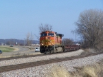 BNSF 4559 Was the Lone Power on this Baretables Train