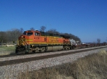 BNSF 4559 Leads a Train that Cannot Possibly Make Any Money