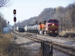 BNSF 651 Leads What I Believe to be an Ethanol Train