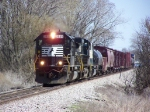 Nice Norfolk Southern Power on the Point of a BNSF Manifest Train
