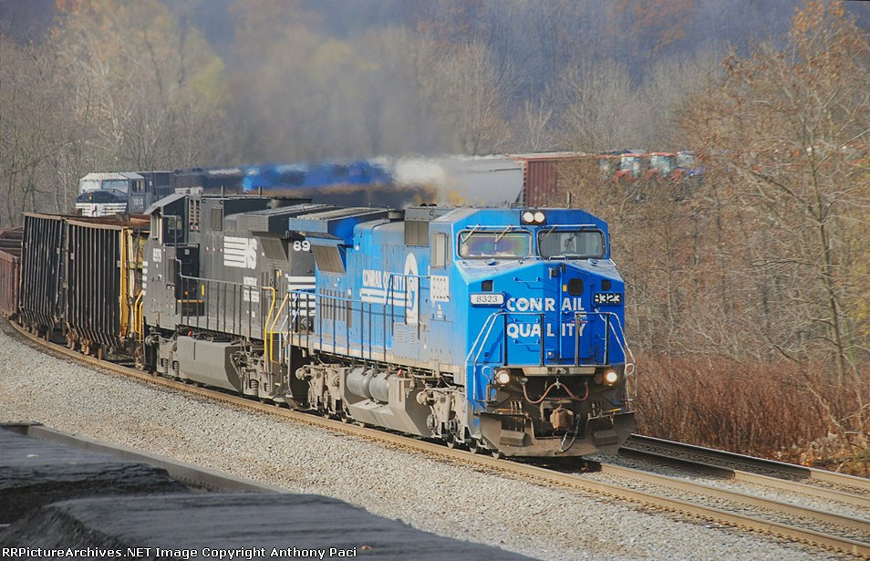 Conrail blue eastbound