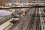 Westbound slab train